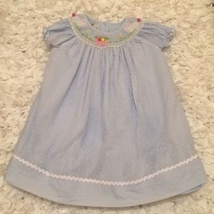 Smocked Easter dress size 3T ....this is adorable